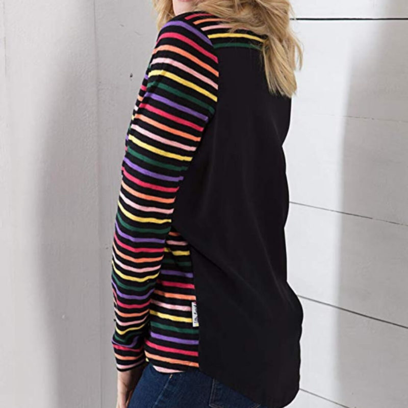 Little Marcel Tam Striped Shirt Back View OuiPlease Women's Online Store