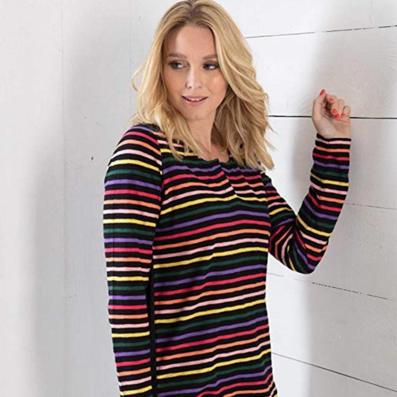 Woman Wearing Little Marcel Tam Striped Shirt OuiPlease Women's Online Store