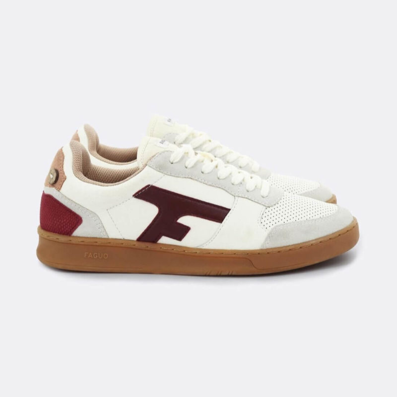 FAGUO Hazel Leather Sneakers F19CG0304 ECR23
