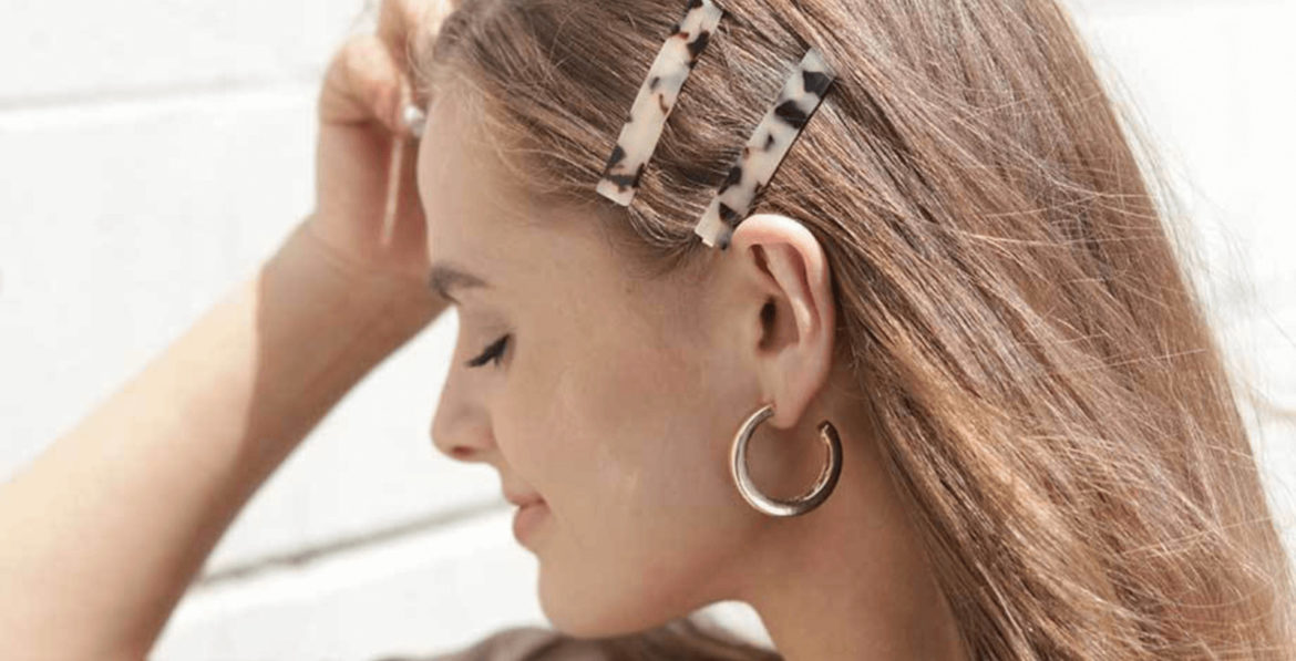 National Hair Day How to Style Hair Barrettes OuiPlease French Beauty Blog