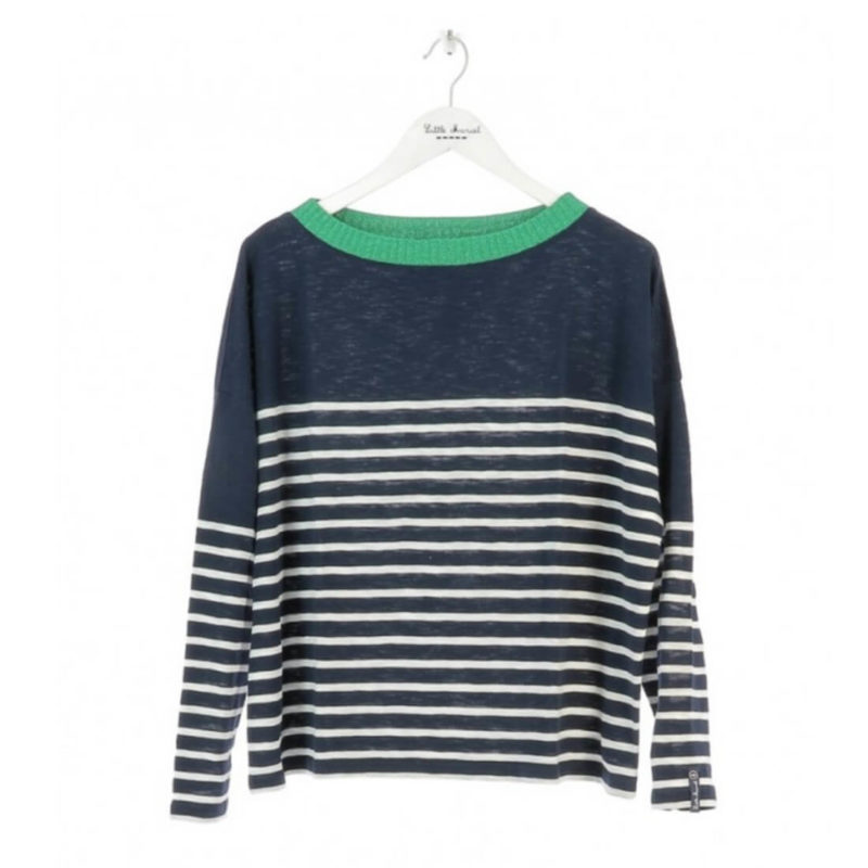 Little Marcel Tribeca Striped Navy Sweater OuiPlease French Online Store