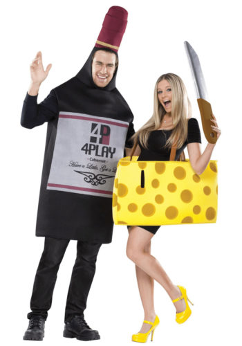 French-inspired Halloween Costumes: Wine & Cheese