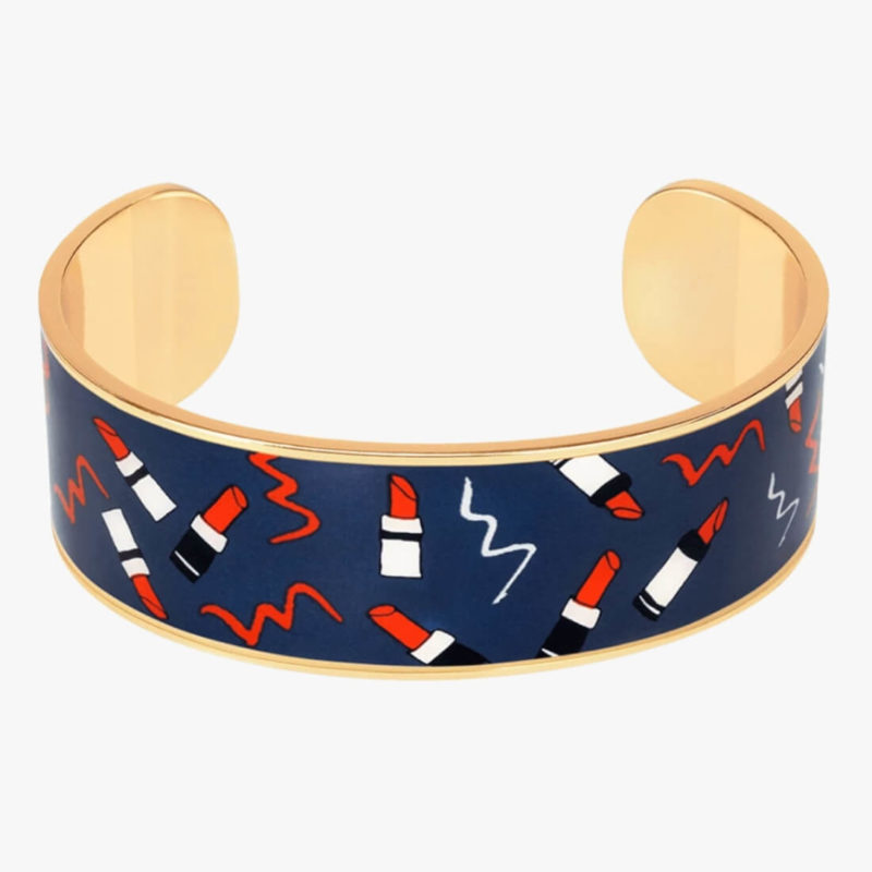 Bangle Up Paris Valerie Cuff Midnight Blue OuiPlease French Online Shop