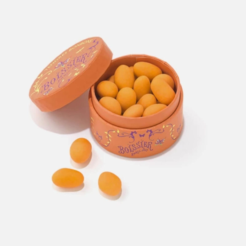 Boissier Paris Apricot Fruity Dragees Hard Candies