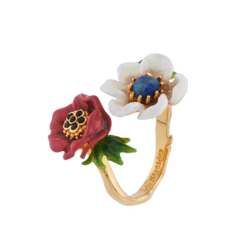 Les Nereides Flower Ring OuiPlease French Online Shop