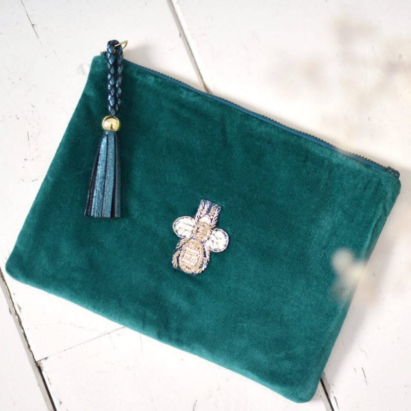 Maradji Polly Clutch Peacock OuiPlease French Online Shop