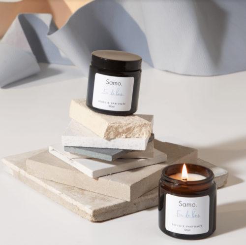 Two Samo Paris Candles