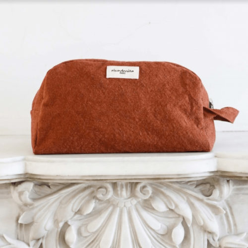 Rive Droite Brown Toiletry Bag