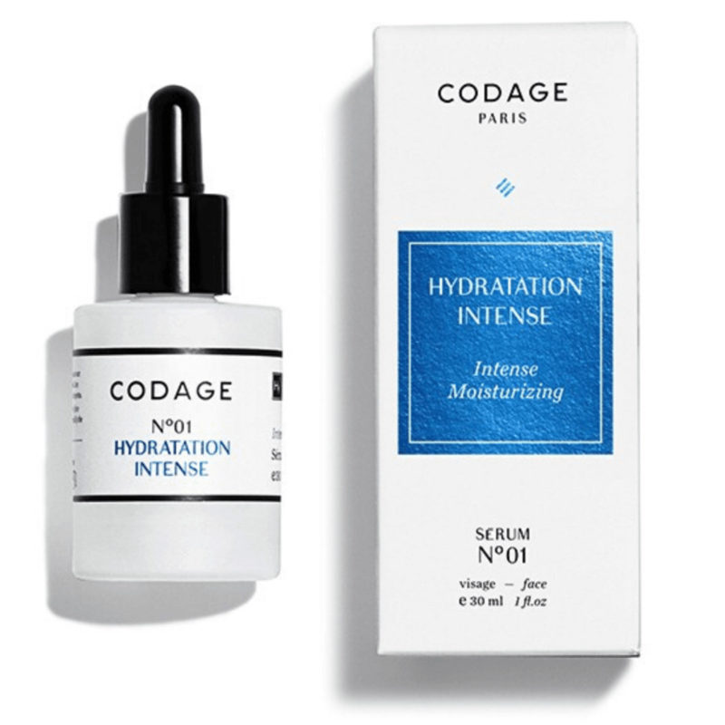 Codage Paris No 01 next to white packaging