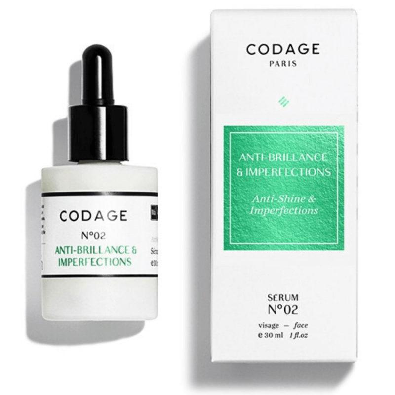 Codage Paris Serum No 02 white packaging