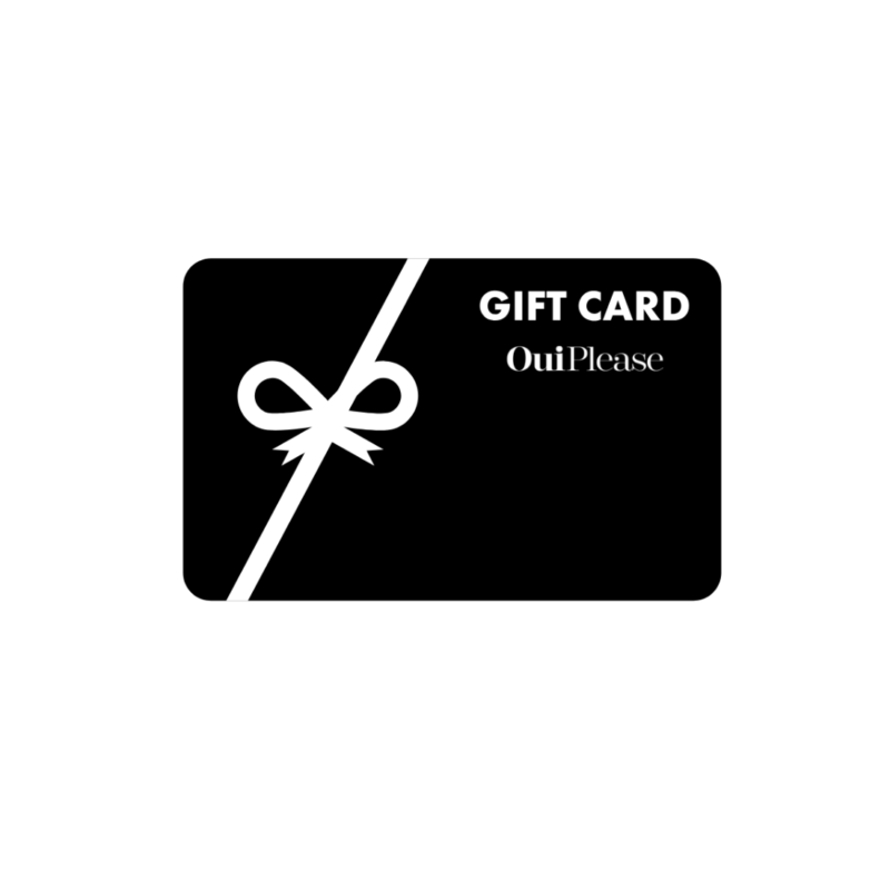 OuiPlease Gift Card Black