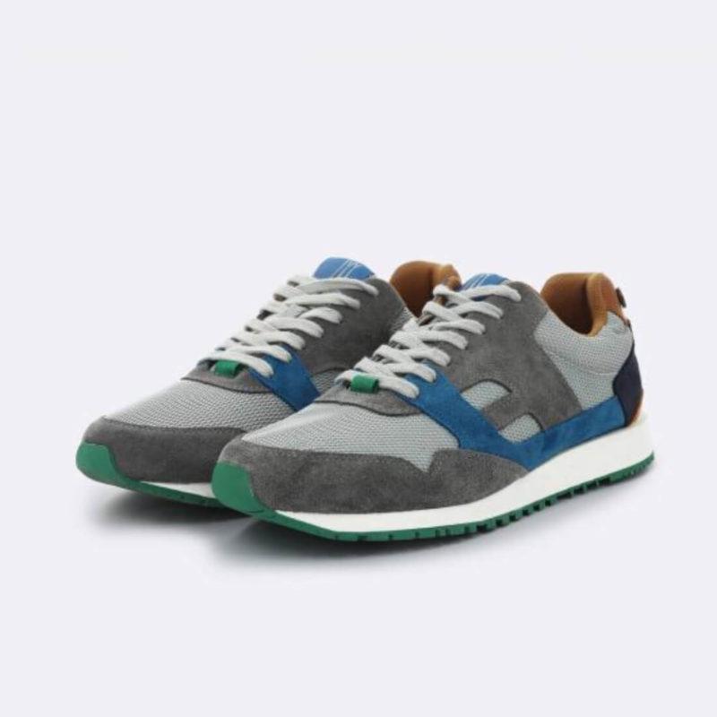 FAGUO Grey Mesh Sneakers side