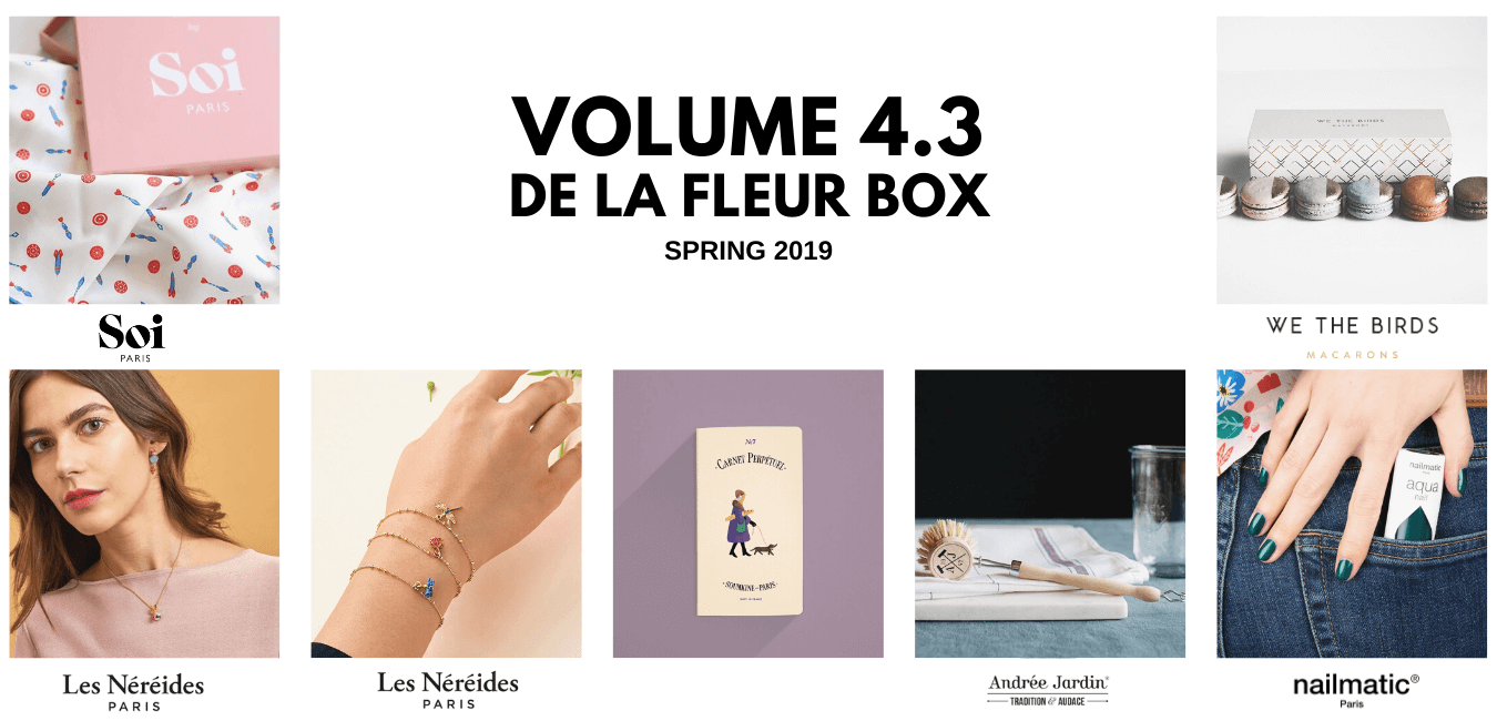 OuiPlease Volume 4.3 De La Fleur Box