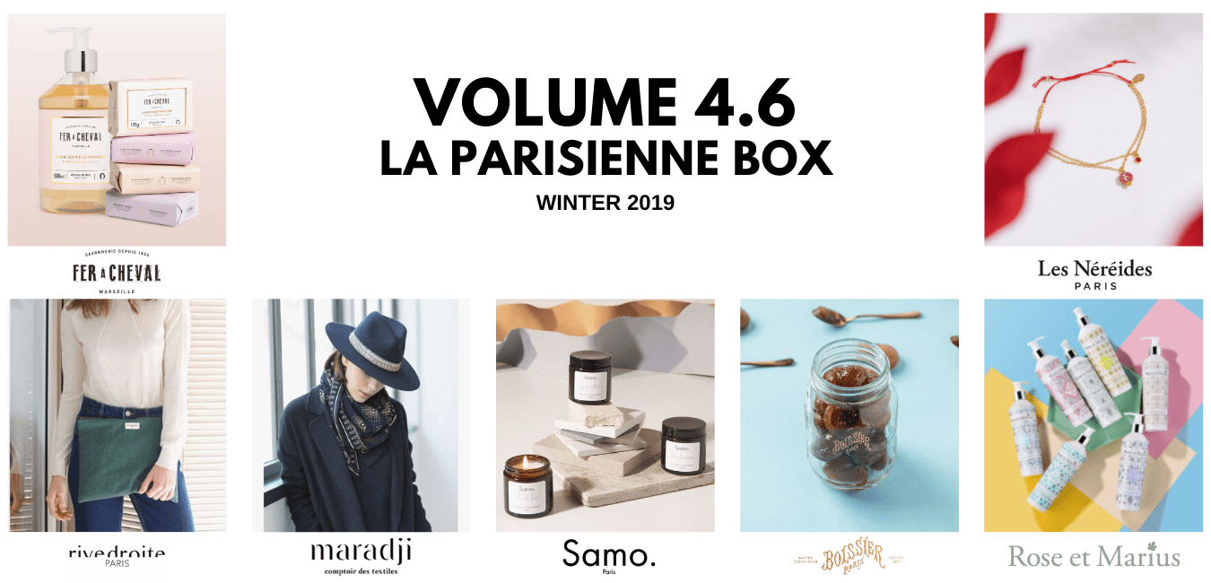 OuiPlease Volume 4.6 La Parisienne Box