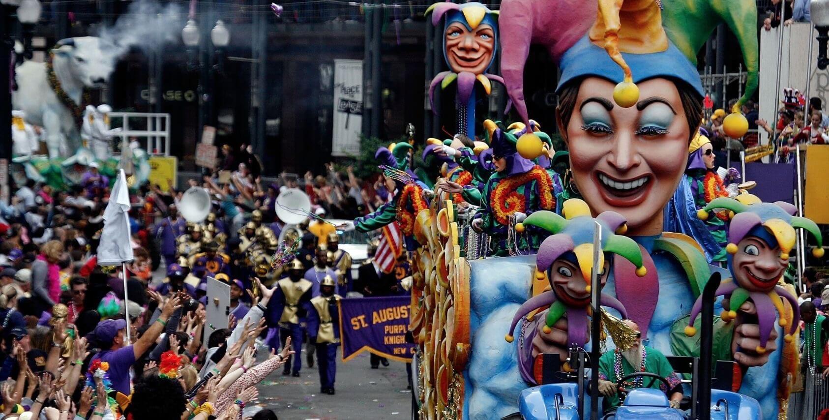 Mardi Gras festival Louisiana
