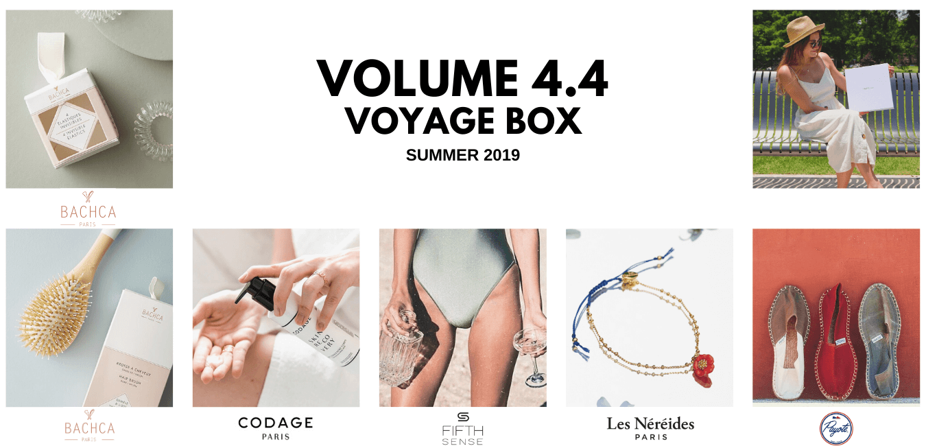 OuiPlease Volume 4.4. Voyage Summer Box