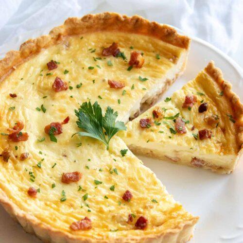 French Quiche Lorraine recipe