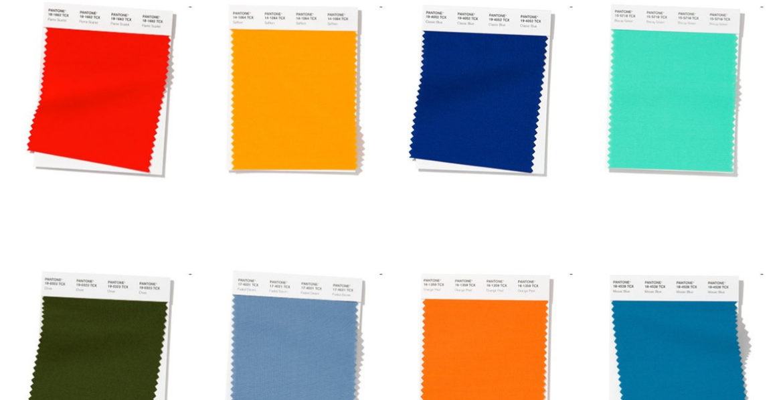 pantone paint chips