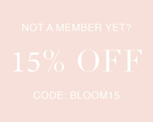 OuiPlease 15% off coupon code: BLOOM15