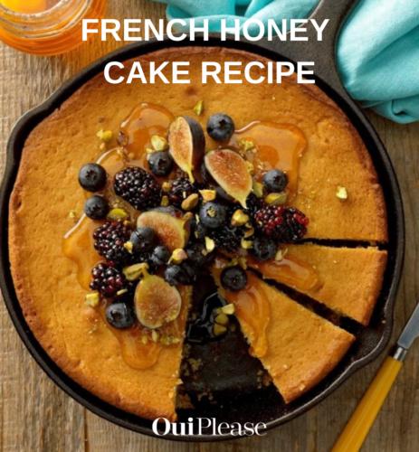 French honey cake recipe