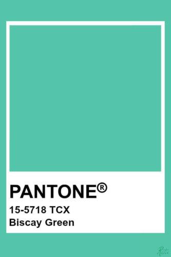 pantone biscay green