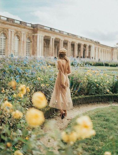 woman in Paris wearing a Beret
