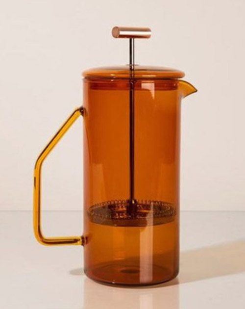 French Press Amber Color