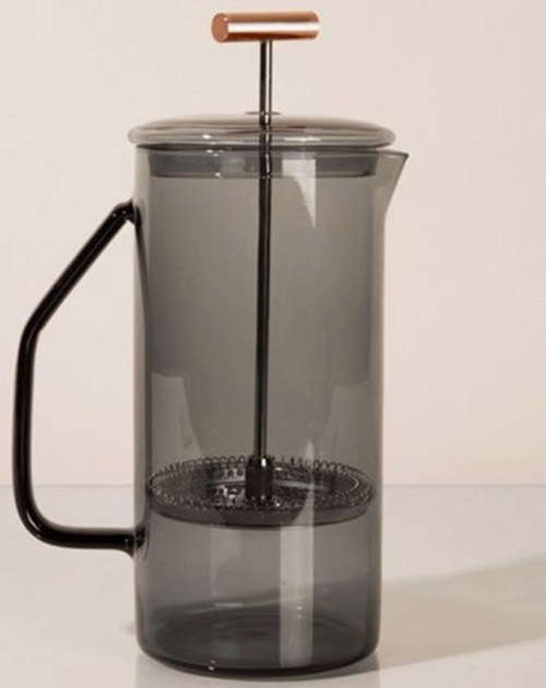 French Press Grey Color