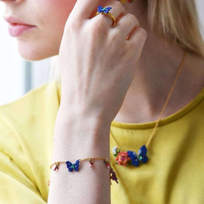 Les Nereides Butterfly Bracelet