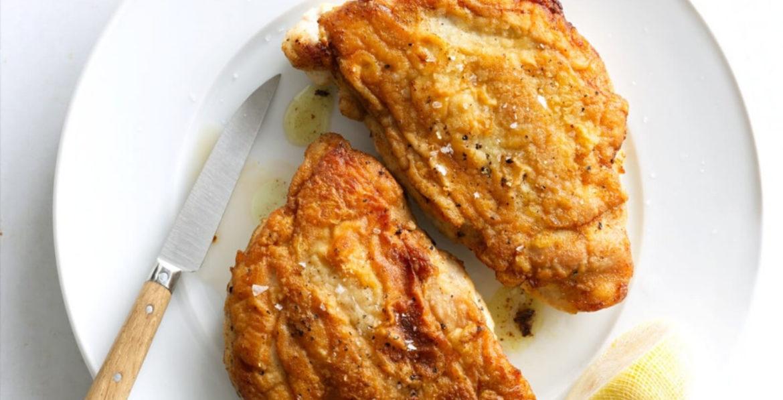 Pan-roasted Chicken Paillard Recipe