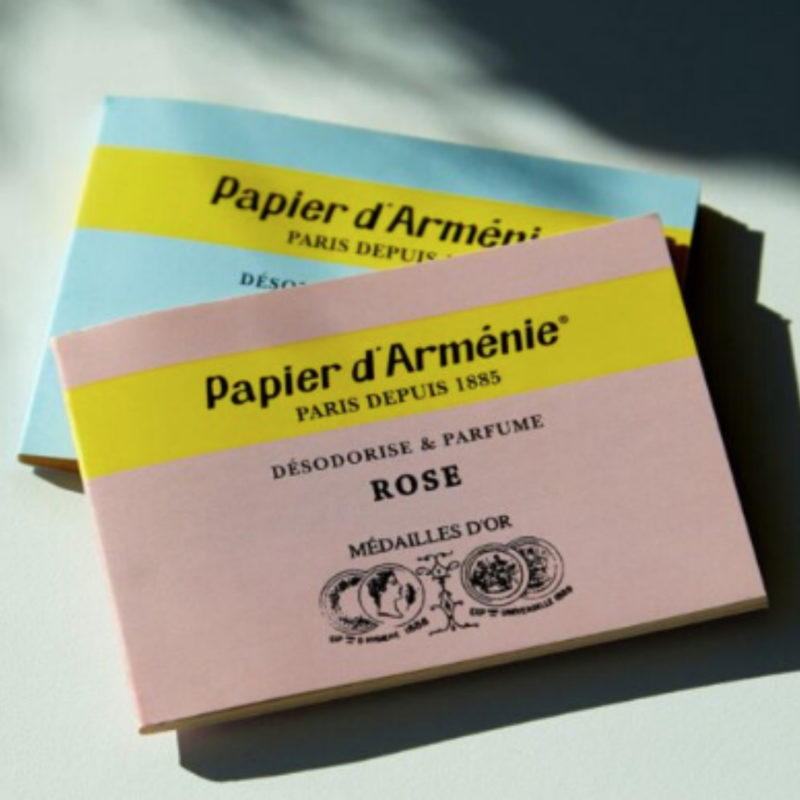 papier d'armenie fragrance strips