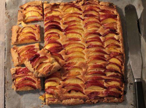 rustic galette fruit dessert