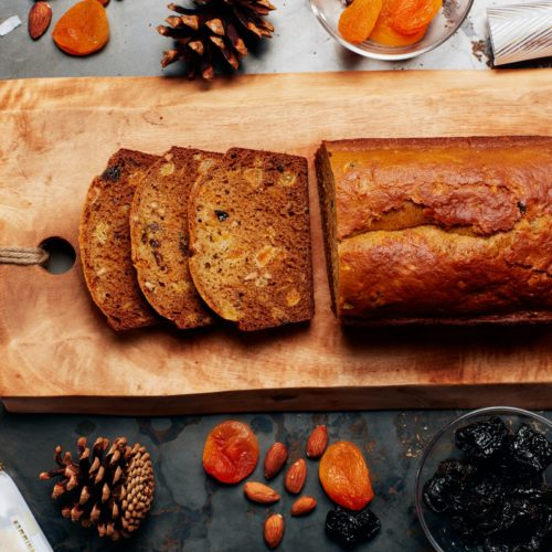 French Spiced Bread sliced