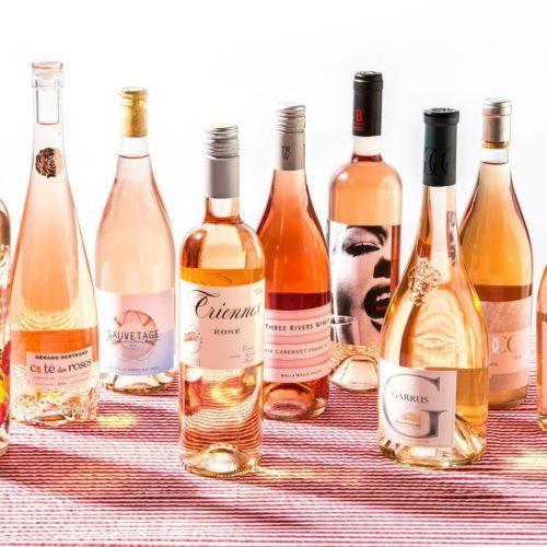 9 bottles of Rosé wines