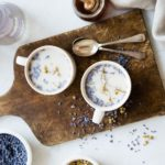French lavender iced latte