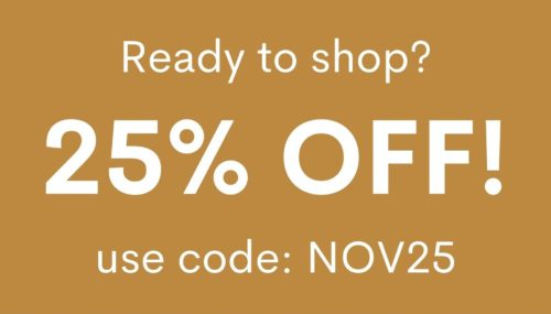 NOV25 25% off coupon