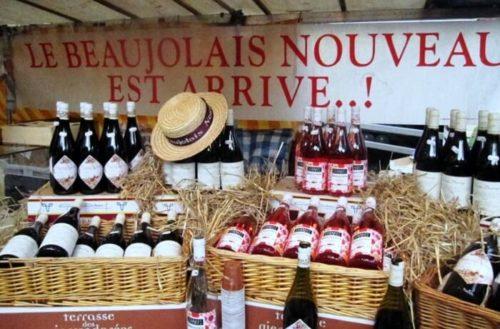 Le Beaujolais Nouveau Sign, French Wine