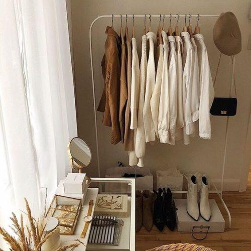 french wardrobe, clothing rack