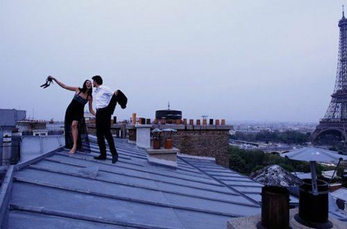 Rooftop View Paris