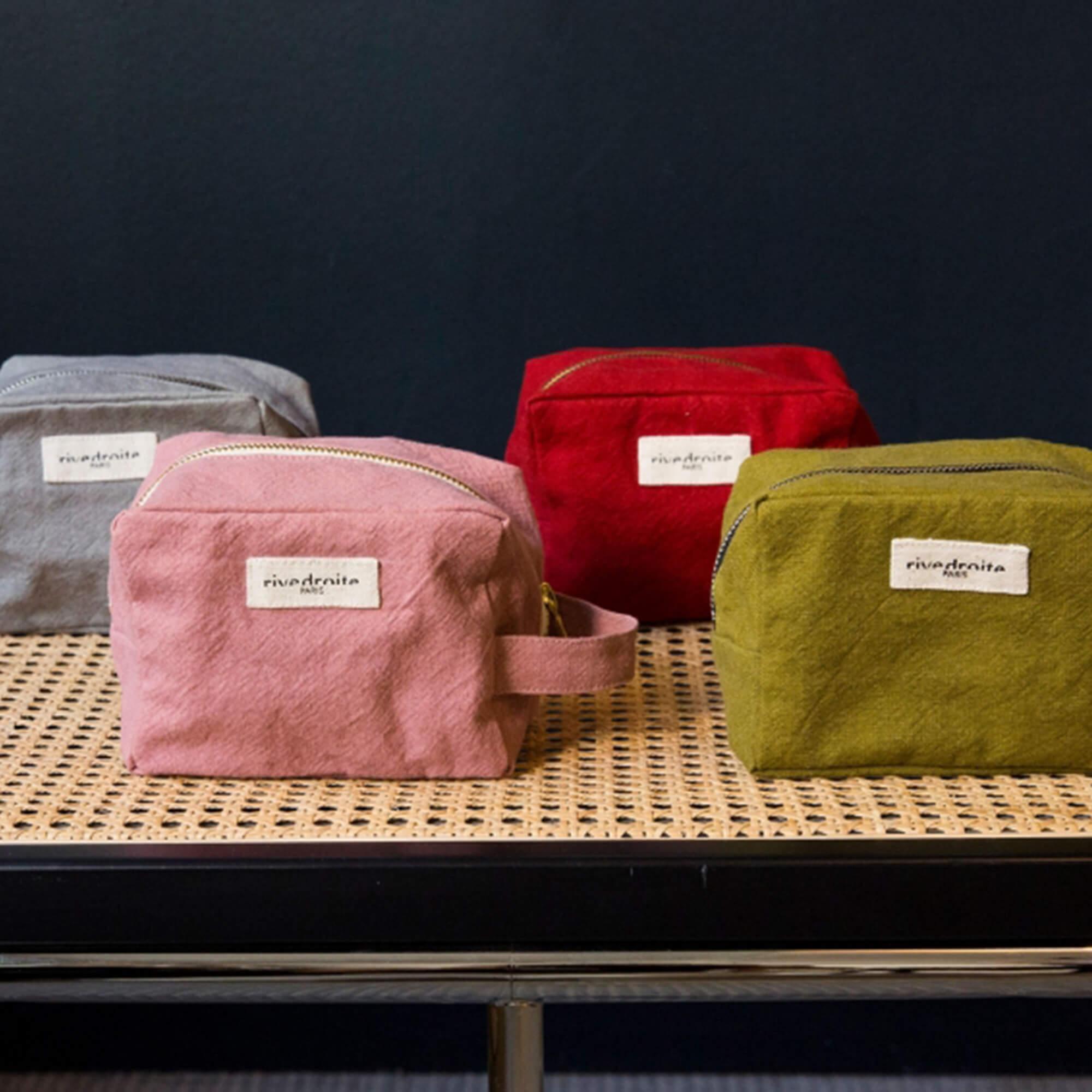 Rive Droite multi color denim pouches