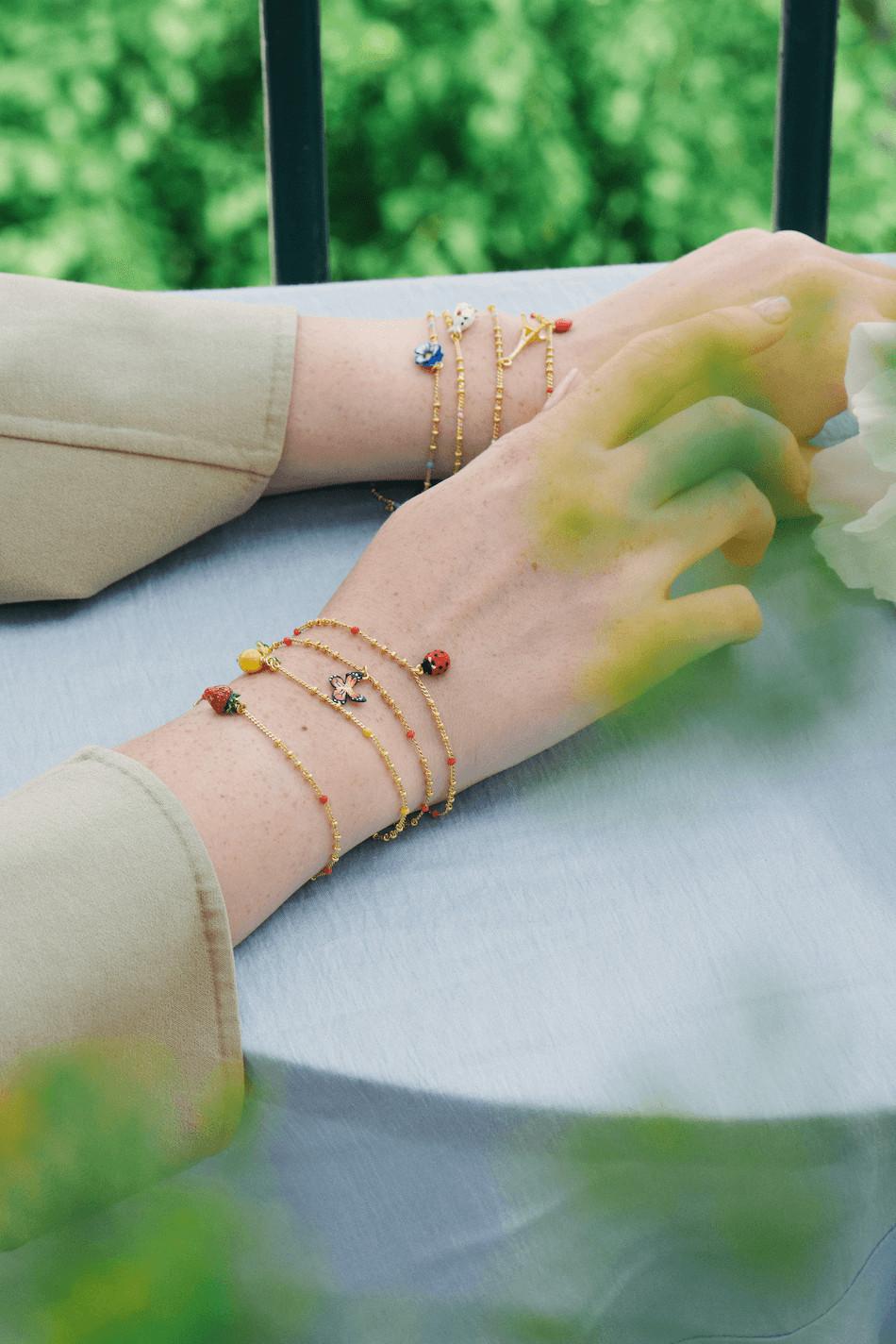 Les Nereides Charm Bracelets x 6